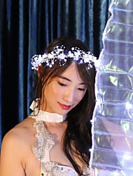 cheap -Dance Accessories Headpieces Women's Performance 100% Polyester LED