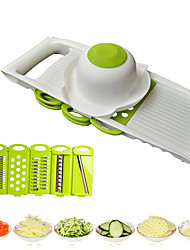 cheap -Stainless Steel + Plastic Tools Dining and Kitchen Peeler & Grater Tools Home Kitchen Tool Creative Kitchen Gadget Kitchen Utensils Tools Multifunction Fruit Vegetable 1 set