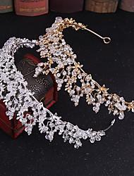 cheap -Crystal / Alloy Tiaras / Headpiece with Metal / Crystals / Rhinestones 1 pc Wedding / Party / Evening Headpiece