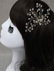 cheap -Crystal / Alloy Hair Pin with Crystal 2 Wedding Headpiece