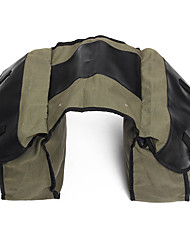 cheap -Motorcycle Saddlebags Canvas Side Back Pack Bike Multi-Purpose Luggage Bag Army Green