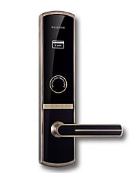 cheap -Factory OEM PRND-RF219 Zinc Alloy Card Lock Smart Home Security Android System RFID Hotel Wooden Door (Unlocking Mode Card)