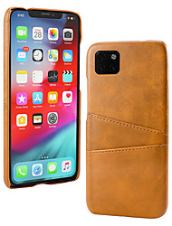 cheap -Luxury Leather Phone Case For iPhone 11 Pro Max / iphone 11 Pro / iphone 11 Wallet Card Slots Back Cover For iphone XS Max XR XS X 8 Plus 8 7 Plus 7 6 Plus 6