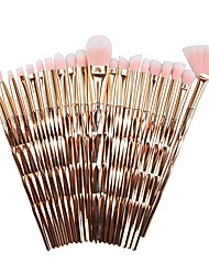 cheap -Professional Makeup Brushes 20pcs Soft New Design Comfy Plastic Shell for Makeup Brush