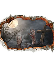 cheap -Decorative Wall Stickers - Holiday Wall Stickers Halloween Decorations Indoor