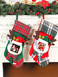 cheap -Christmas Socks Christmas Pendant DIY Ornaments Christmas Gifts Christmas Socks Gift Bag Christmas Supplies