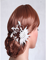 cheap -Rhinestone / Alloy Flowers with Crystals / Rhinestones 1 Piece Wedding Headpiece