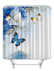 cheap -Shower Curtains Modern Polyester Cool 72 Inch