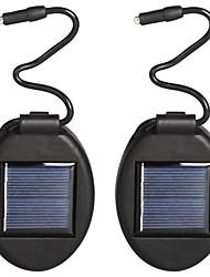 Недорогие -2шт 2 Вт газонные светильники водонепроницаемый / солнечный / творческий теплый белый 1.2 В бассейн / двор / цветочная атмосфера в горшке свет / сад 1 светодиодные шарики