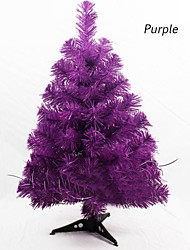 cheap -Popular Artificial Christmas Tree 90cm Snowflake New Year Plastic Christmas Tree Home Ornaments Desktop Decorations Christmas Tree