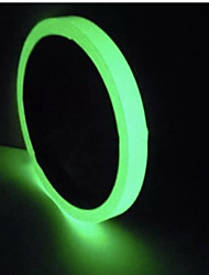 cheap -Reflective Tape Car Stickers DIY Light Luminous Warning Glow In Dark Night Safety Covers Paste Accessories Models 10mmx3 meters