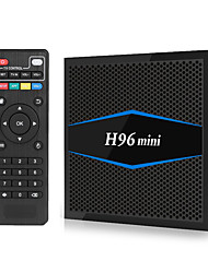 cheap -H96 Mini TV BOX Android 7.1 Smart TV Box 2GB Ram 16GB Rom Amlogic S905W Quad Core H.265 4K 2.4G/5G Wifi Bluetooth 4.0 H96Mini Full HD Media Player Kodi17.6