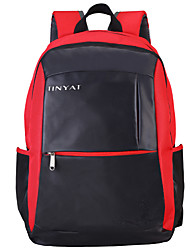 cheap -14 Inch Laptop / 15.6 Inch Laptop / 17 Inch Laptop Commuter Backpacks Polyester Solid Color Unisex Water Proof Shock Proof