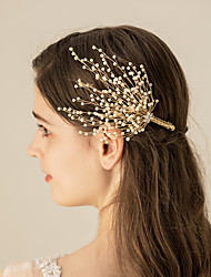 cheap -Imitation Pearl / Alloy Headdress / Hair Clip with Metal 1pc Wedding / Party / Evening Headpiece