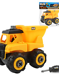 cheap -Toy Car Excavating Machinery Construction Vehicle Construction Truck Set Wheel Loader Creative Adorable Parent-Child Interaction Plastic Mini Car Vehicles Toys for Party Favor or Kids Birthday Gift