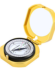 cheap -Compasses Outdoor Portable Compass Metal Outdoor Exercise Camping / Hiking / Caving Traveling Gold