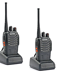 Недорогие -2 шт. Рация baofeng bf-888s 16-канальный УВЧ 400-470 МГц baofeng 888s ветчина радио-HF трансивер amador портативные домофоны супер качество звука