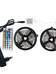 cheap -LED 12V SMD 5050 RGB 10M LED Strip Lights LED Tape Multi-colors with 44Keys Remote 300 LEDs Non-waterproof Light Strips with Driver