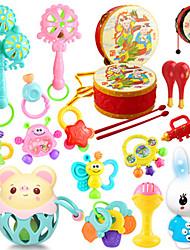 Недорогие -15pcs красочные мульти-формы детей Детское кольцо колокол игрушки