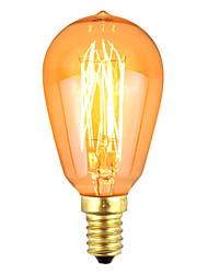 cheap -1pc 40 W E14 Warm White Decorative Incandescent Vintage Edison Light Bulb 220-240 V