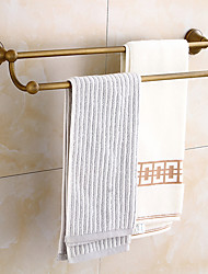 cheap -Towel Bar Multilayer / Creative Antique / Traditional Brass Bathroom Double Wall Mounted