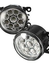 cheap -2pcs H11 55W 6000K LED Front Fog Lamp Daytime Running Light For Honda Ford Focus Subaru
