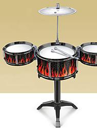 Недорогие -Конструкторы Барабанная установка Барабанная установка Джазовый барабан пластик для Детские