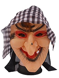 cheap -1 PCS new Halloween mask grid cloth mask head evade glue terrorist witches