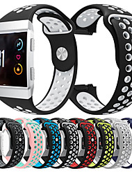 Недорогие -Спортивный силиконовый ремешок для часов ремешок на запястье для fitbit ионных смарт-часы браслет браслет сменные аксессуары