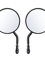 cheap -Diameter 105mm Retro Round Rearview Motorcycle Mirrors Long/Short Handle For Harley Davidson
