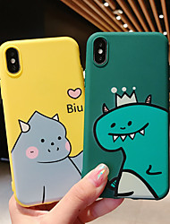 cheap -Case For Apple iPhone XS / iPhone XR / iPhone XS Max/ 7 8 PLUS/6SPLUS/6S Pattern Back Cover 3D Cartoon TPU