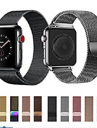 cheap -Milanese Loop For Apple Watch band strap 44mm/40mm/42mm/38mm iwatch5/4/3/2/1Stainless Steel Link Bracelet wrist watchband magnetic buckle