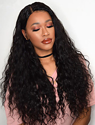cheap -Synthetic Wig Afro Curly Rihanna Free Part Wig Long Black#1B Brown Synthetic Hair 26 inch Women's Odor Free Adjustable Heat Resistant Black Brown