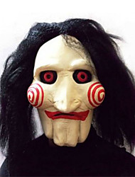 cheap -Halloween carnival supplies/saw/performance saw latex wig head mask