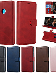 cheap -Case For Huawei P smart Plus 2019 P smart 2019 Phone Case PU Leather Material Solid Color Pattern Phone Case for Huawei P smart Plus P smart P30 Lite P20 Lite