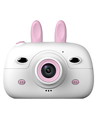 cheap -HD Screen Chargable Digital Mini Camera Kids Cartoon Cute Camera Toys Outdoor Photography Props for Child Birthday Gift