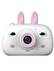 Недорогие -HD экран зарядка цифровая мини камера дети мультфильм милые камеры игрушки на открытом воздухе фотографии реквизит для ребенка подарок на день рождения