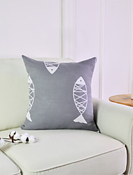 cheap -2 pcs Polyester Pillow Cover Pillow Insert, Plaid / Check Graphic Prints Chic & Modern Modern Bed Pillow