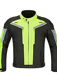 cheap -RidingTribe Men's Cycling Jacket Bike Winter Jacket Motorcyle Clothing Top Thermal / Warm Windproof Quick Dry Sports Winter Black / Gray+White / Green Mountain Bike MTB Motocross Clothing Apparel