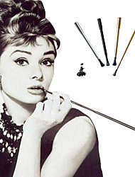 cheap -Halloween Costume Accent / Decorative The Great Gatsby Halloween Artificial Coral For Audrey Hepburn The Great Gatsby Cosplay Halloween Women's Costume Jewelry Fashion Jewelry / Cigarette Stick / Rim