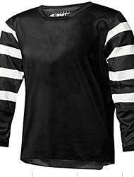 Недорогие -Муж. Длинный рукав Велокофты Сноуборд Джерси Джерси Байк Джерси Зима Черный / Белый геометрический Велоспорт Джерси Одежда для мотоциклов Верхняя часть Горные велосипеды Шоссейные велосипеды