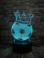 cheap -3D Nightlight For Children Creative Birthday USB 1pc