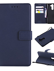 cheap -Case For Nokia Nokia 9 / Nokia 8 / Nokia 6 Wallet / Card Holder / Flip Full Body Cases Solid Colored PU Leather / TPU