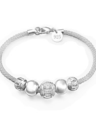 cheap -Women's Bracelet Classic Star Fashion Silver-Plated Bracelet Jewelry Silver For Daily