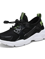 cheap -Boys' Comfort Mesh Athletic Shoes Big Kids(7years +) Walking Shoes White / Black / Blue Fall / Rubber