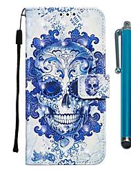 Недорогие -чехол для apple iphone 11 / iphone 11 pro / iphone 11 pro max кошелек / держатель карты / с подставкой для всего тела чехлы из кожи призрака из искусственной кожи для iphone x / xs / xr / xs max / 8