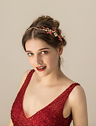 cheap -Crystal / Alloy Headbands / Headdress with Crystal / Rhinestone / Metal 1pc Wedding / Party / Evening Headpiece