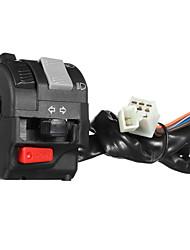 cheap -12V Motorcycle Headlight Start Switch Horn Turn Signal For 7/8inch 22mm Handlebar Left Side
