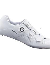 cheap -Road Bike Shoes Carbon Fiber Breathable Cushioning Ventilation Cycling / Bike Cycling Shoes White Men's Cycling Shoes / Ultra Light (UL) / Ultra Light (UL)