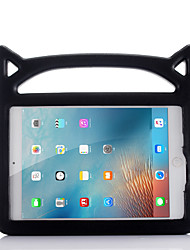 cheap -Case For Apple iPad Mini 3/2/1 / iPad Mini 4 / iPad Mini 5 Shockproof / with Stand Back Cover Solid Colored EVA